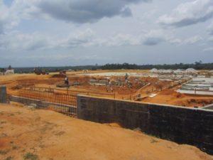 Construction of Palm Oil Plant in Cote d'Ivoire.